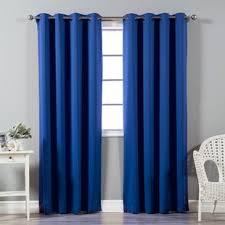 Turquoise Blackout Curtains Turquoise Curtains Wayfair