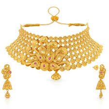 gold har set fancy gold necklace set shri hari jewellers manufacturer in