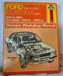 haynes car manual ford cortina mk iv 1600 u0026 2000 1976 to 1980