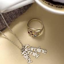 Multiple Name Necklace Kouture Jewels Accessory Guru Necklaces U0026 Chains