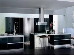design inspiring black white modern kitchen contemporary cabinet