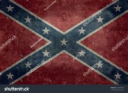Dont Tread On Me Confederate Flag Confederate Flag Distressed Vintage Version Stock Illustration