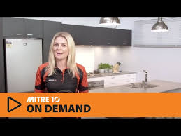 design a kitchen mitre 10 dream zone youtube