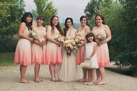 coral and gold bridesmaid dresses look bridesmaid dye dresses ideas weddceremony com