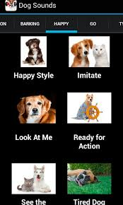 boxer dog noises amazon com dog sounds appstore for android