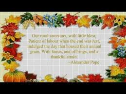 thanksgiving day poems wish your closed ones with thanksgiving