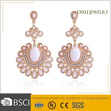 top earing dixu fancy design gold earring designs top design gold earring