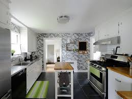 kitchens wallpaper in neutral hues is more apt for contemporary