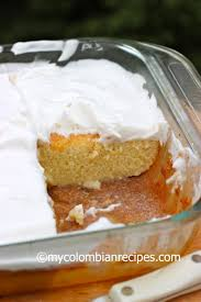 torta de tres leches three milks cake my colombian recipes
