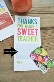 appreciation gift card holders cool sweet teachers by