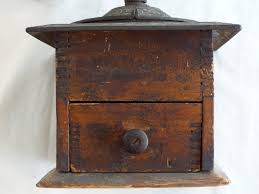 Cast Iron Coffee Grinder An Old Coffee Grinder Blackenedroots Com