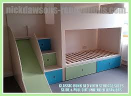 Bunk Bed With Storage Bunk Beds Storage Steps For Bunk Bed Inspirational Childrens