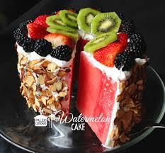 Watermelon Cake Decorating Ideas Watermelon Cake Recipe Paleo Cupboard