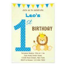 lion birthday invitations u0026 announcements zazzle