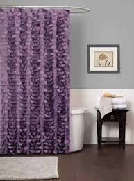 Lush Shower Curtains Lush Decor Lillian Purple Shower Curtain Overstock Shopping