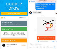 play doodle draw doodle draw is on messenger android community