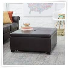 Square Ottoman Coffee Table Awesome Small Round Coffee Table Tray U2013 Round Red Leather Coffee