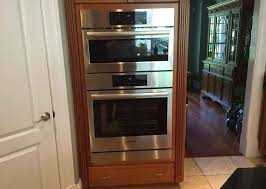 how to install a wall oven in a base cabinet marvelous how to install a double wall oven g83 about kitchen