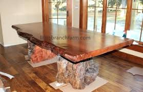 how to make a rustic table rustic wood table live edge wood slab table rustic table how to make