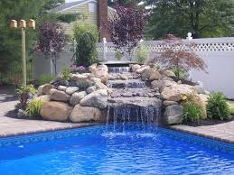 waterfalls for home decor swimming pool designs with waterfalls home decor gallery also for