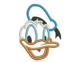 donald duck applique etsy