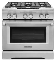 Slide In Gas Cooktop 36 U0027 U0027 6 Burner Dual Fuel Freestanding Range Commercial Style