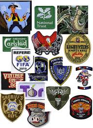 Flag Badges Embroidered Custom Embroidered Patches Australia No Minimum