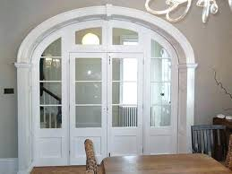 interior door frames home depot arched interior door arch doors archway white painted