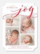 holiday birth announcements photoaffections