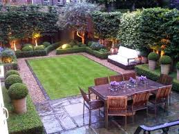 Small Space Backyard Landscaping Ideas Like The Use Of Small Space Landscaping Not Just Grass Bench Fit