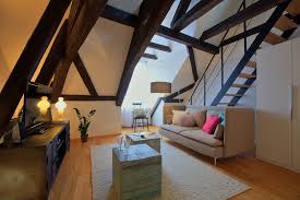 Living Room With Sofa Maisonette Terrace Apartment Prague 1 Old Town Prague Stay