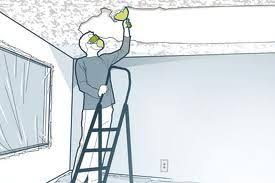 Popcorn Ceiling In A Can by How To Remove A Popcorn Ceiling Without Water Ecosolveamericas