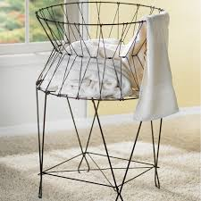 furniture double french wire hamper for home furniture ideas