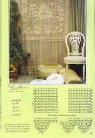 Crochet Lace Curtain Pattern 165 Best Crochet Curtains Images On Pinterest Crochet Curtains