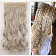 clip in hair extensions uk mix colored one clip in hair extensions 24 61cm curly ash