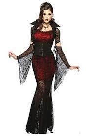 vampire costume halloween fancy dress gothic ladies dracula