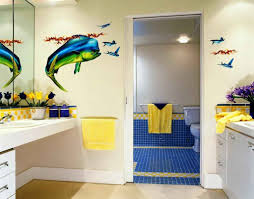 Wall Decorating Kids Bathroom Wall Decorating Ideas Eva Furniture