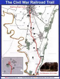 Washington County Map Revival Of Civil War Rail Trail In Washington County Hits Obstacle