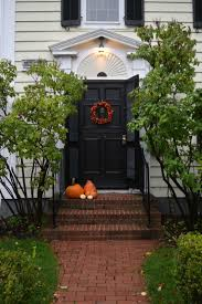 halloween decorations outside tour of fall porches nesting with