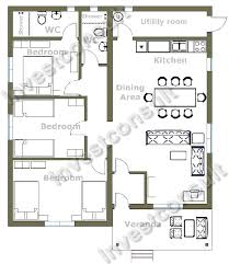 floor plan for 3 bedroom house pleasurable ideas 12 compact 3 bedroom house plans 3bed room house