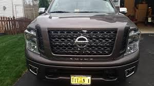 nissan armada java metallic 2017 parts for sale bumper step and grill nissan titan forum