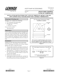 lennox international inc heat pump 67m41 user guide