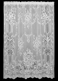 Heritage Lace Shower Curtains by Domesticlacelacepatterns
