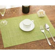 napperon de cuisine nouvelle vente 4 pcs table décor outil chaleur isolé vaisselle pvc