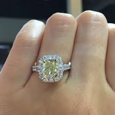 henri daussi engagement rings henri daussi engagement rings 2 55ct fancy yellow halo