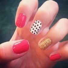 kate spade themed nail art design nailed it pinterest