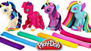 Play Doh MY LITTLE PONY Make N Style Ponies 1