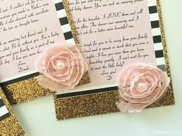 gold glitter thank you cards diy inspired