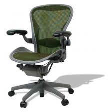 Herman Miller Armchair Buy Used Herman Miller Colored Aeron Loaded Emerald Green