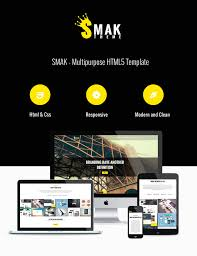 smak free html single page template graphberry com